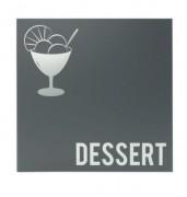 Porte carte dessert - Format A4 - 2 et 4 vues