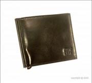 Porte-cartes en cuir pour homme - Dimension (L x h)  : 11 x 9 cm - Ensemble de 6 rangements