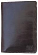 Porte-cartes masculin en cuir noir - Dimension (L x h)  : 12,5 x 10 cm - Ensemble de rangements pour 8 cartes