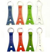 Porte clés Tour Eiffel - Dimensions (cm) : 7,5 x 3,6 x 0,7