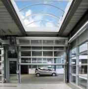 Porte compacte en aluminium translucide - ALU-R Compact