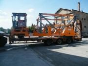 Porte conteneur maritime - Charge admissible : 25 tonnes