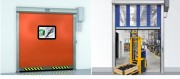 Porte coulissante automatique - Largeur d'ouverture : 6000 mm