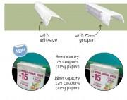 Porte coupon en PVC - Fabriqué en plastique - Capacité : 115 g
