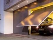 Porte de garage artisanale basculante