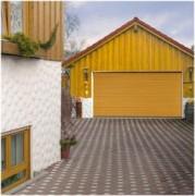 Porte de garage en bois - LTH 40 Rainure S