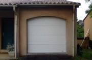 Porte de garage enroulable - Pose simple et rapide