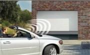 Porte de garage enroulable motorisée - Permet un gain de place considérable