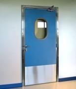 Porte de service isoplane semi isolée - En tôle laquée ou en polyester