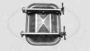 Porte de visite rectangulaire - Dimensions : 406x530mm- 530x406mm- 316x424mm- 424x316mm