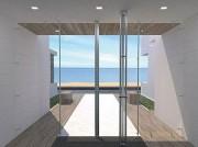 Porte en verre sur pentures - Plusieurs modèles disponibles
