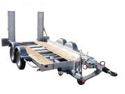 Porte engin aluminium et bois - Chassis mécano-soudé
