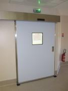 Porte étanche à l'air coulissante - Pour salle à atmosphère contrôlée