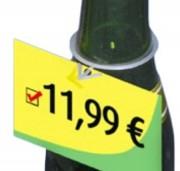 Porte étiquette anneau pour bouteille