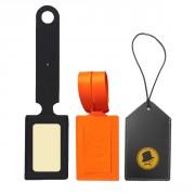 Porte Etiquette de Bagage - 3 modèles fabriqués en synderme