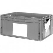 Porte étiquette en plastique transparent - Dimensions : A4 - A5 - A6