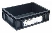 Porte étiquette pour bac - Dimensions : L.270 x lg.104 x H.8 mm - Matière polycarbonate -