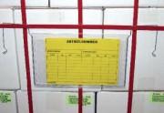 Porte-étiquettes avec accroche en fil - Format : A5