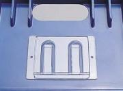 Porte étiquettte caisse et bac - Porte étiquette transparente