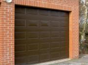 Porte garage sectionnelle automatique - Facile à entretenir