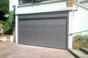 Porte garage sectionnelle sur-mesure - Porte motorisée