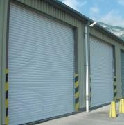 Porte industrielle à lames acier - Usinage de haute précision