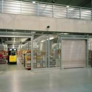 Porte industrielle à rideaux - HR 120