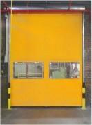 Porte industrielle intérieure - Plusieurs couleurs   -  Avec commandes automatiques