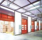 Porte industrielle souple - Portes de grandes dimensions