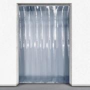 Porte industrielle souple en PVC - Largeurs de lanières disponibles : 200- 300- 400 mm