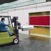 Porte industrielle souple rapide pour intérieur - V 3510