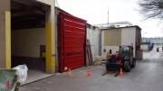 Porte industrielle souple sur-mesure - Rapide et souple
