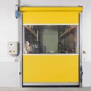 Porte industrielle verticale pour l'intérieur - Vitesse Ouverture : 1,4 m/s Fermeture : 0,5 m/s