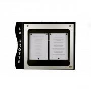Porte menu cevennes 2 pages - 2 pages