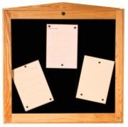 Porte menu lumineux pour extérieur - Capacité : 6 pages - Modèle : Mural à simple face