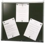 Porte menu lumineux pour intérieur - Capacité : 6 pages - Version murale