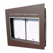 Porte menu sheffield 2 pages A4 - 2 pages A4