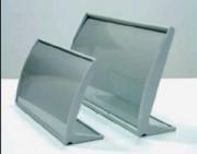 Porte nom Aluminium