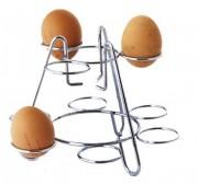 Porte œufs chromé - Matière : chromé