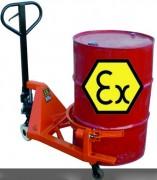 Porte-palette pour transport de fûts ATEX - Charge : 365 Kg