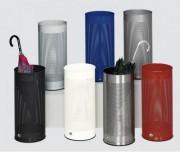 Porte parapluie en tôle d'acier galvanisé - Capacité (L) : 30