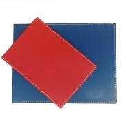 Porte photos pliable à poser en cuir - Porte-Photos pliable en synderme/Cuir recyclé