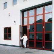 Porte pliante en aluminium - AFN