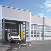 Porte pliante pour bâtiments industriels - AFA