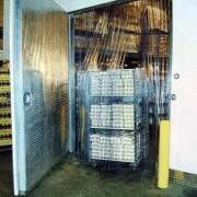 Porte chambre froide - Porte à lanière PVC - Rideau à lanière