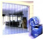 Porte pour chambre froide - Porte à lanières PVC - PVC souple cristal ou polaire