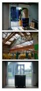 Porte pvc à lanières opaques - Épaisseur : 2, 3, 4 mm - Largeur : 200, 300, 400 mm