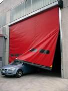 Porte pvc industrielle - Vitesse d'ouverture : Jusqu'à 2 m/s