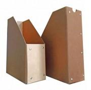 Porte revue carton - Monté : 25.00 x 32.00 x 10.00 cm