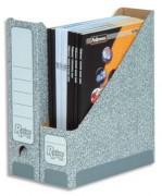 Porte revue R-KIVE gris en carton gris nuageux - R-KIVE